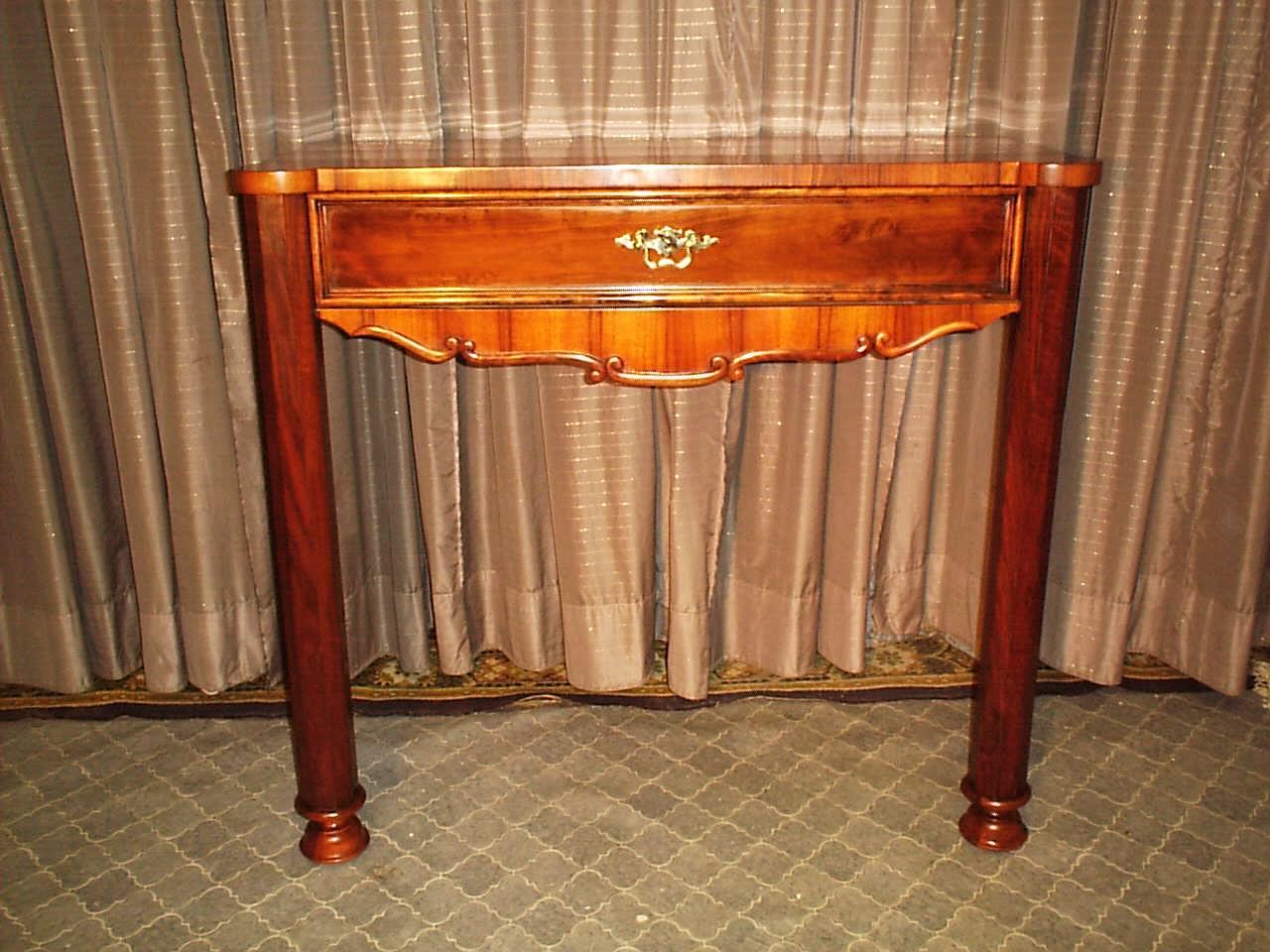 nussbaum konsole antike m bel antiquit ten restauration bracciali m nchen. Black Bedroom Furniture Sets. Home Design Ideas