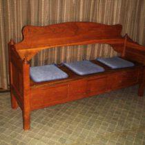 Eichen Sitzbank